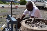 Precious making briquettes