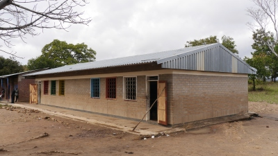Kandeu Primary School Standard 7 and 8 Classroom